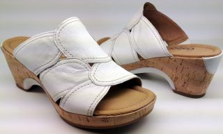 Gabor slippers 02.745.50 white leather