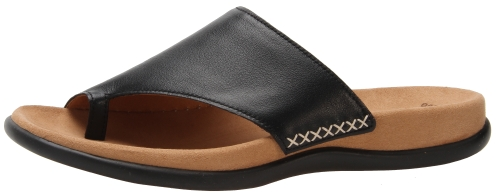 Gabor slippers 83.700.27 black leather