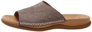 Gabor slippers 83.705.13 fumo gray nubuck