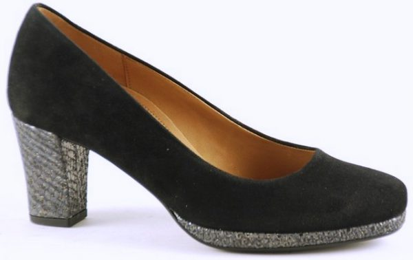 Gabor pumps 22.190.37 black suede