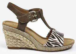 Gabor sandals 22.824.22 brown nature suede     WEDGES