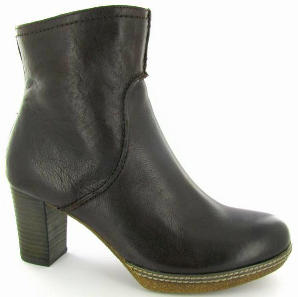 Gabor ankle boots 32.870.24 dark brown leather