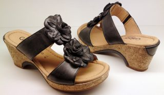 Gabor slippers 82.742.67 black leather
