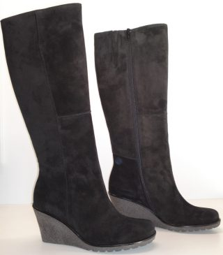 Gabor boots 51.689.17 black suede   WEDGES