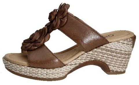 Gabor slippers 42.742.53 peanut brown leather