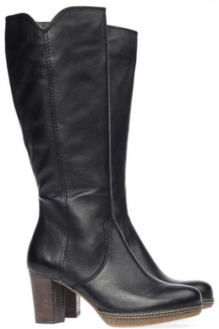 Gabor boots 72.877.57 black leather