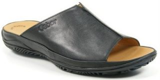 Gabor slippers 82.090.17 black leather   WIDE FIT