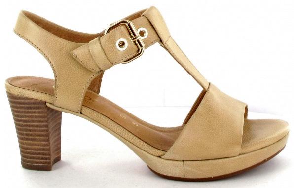 Gabor sandals 82.394.34 gold beige leather