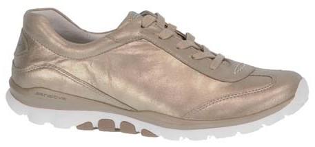 Gabor rollingsoft sensitive 86.965.62 metallic gold leather