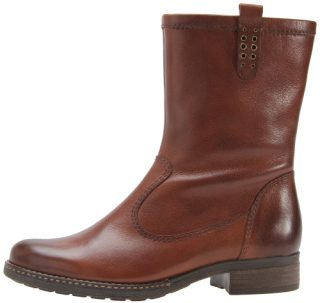 Gabor medium boots 92.783.25 cognac brown leather