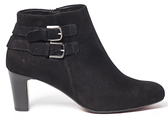 Gabor ankle boots 95.661.17 black suede