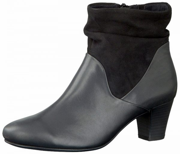 Gabor 96.583.57 wide fit women ankle boot black