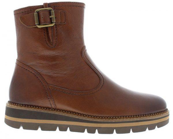 Gabor 52.571.24 cognac brown leather