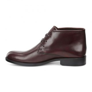 Ecco 634544-01060 HAROLD RUST brown leather