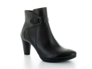 Ecco ankle boot 242773-01001 SCULPTURED 75 black leather