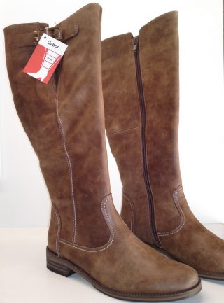 Gabor boots 12.798.45 soft calf leather copper brown WIDE LEG