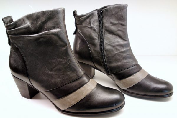 Gabor 15.780.60 black grey leather