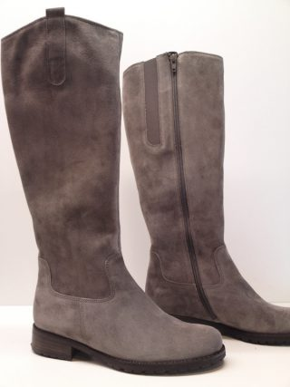Gabor boots 31.543.13 grey suede    LEG WIDTH MEDIUM