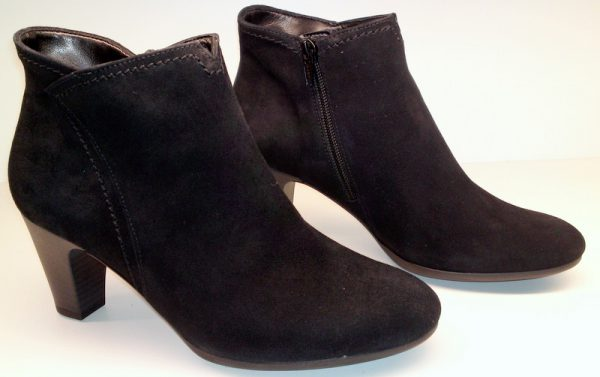 Gabor ankle boots 55.750.17 black suede