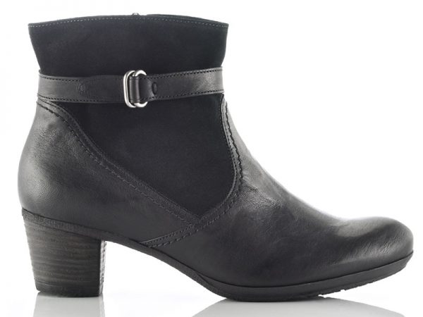 Gabor 56.663.17 women ankle boots black