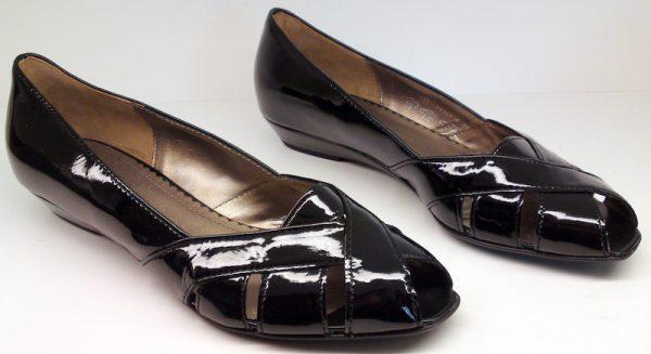 Gabor pumps 61.626.97 black patent leather