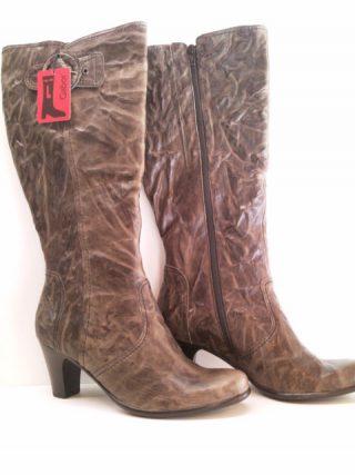 Gabor boots 72.987.29 graphit pangea nappa WIDE LEG