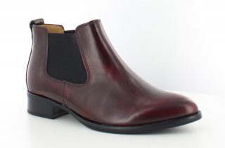Gabor ankle boots 31.600.75 bordeau red leather
