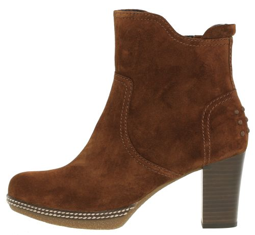 Gabor ankle boots 72.871.41 whisky brown suede