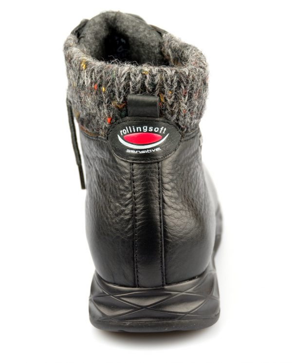 Gabor rollingsoft sensitive 56.945.01 black leather    WATERPROOF GORE-TEX