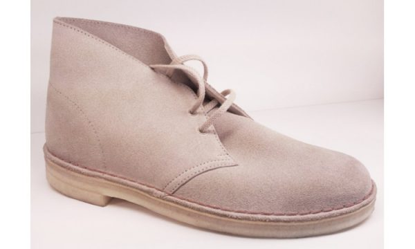 Clarks Originals ankle boots DESERT BOOT sand suede women