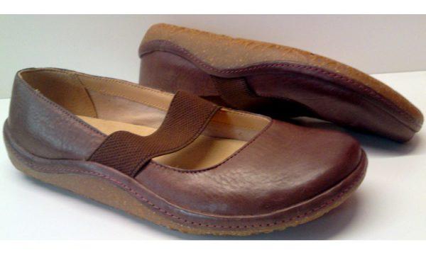 Clarks flat slip-on EDGE HOLLYWOOD ebony leather
