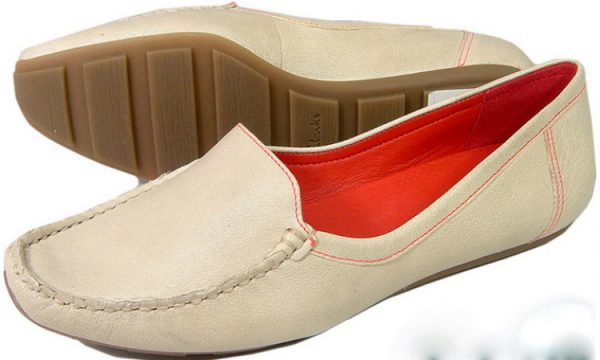 Clarks flat slip-on ESTELLE DAWN cotton leather