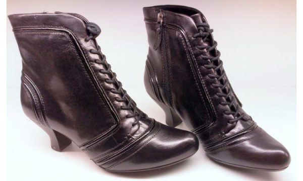 Clarks ankle boots KIDBROOK ABOUT black leather