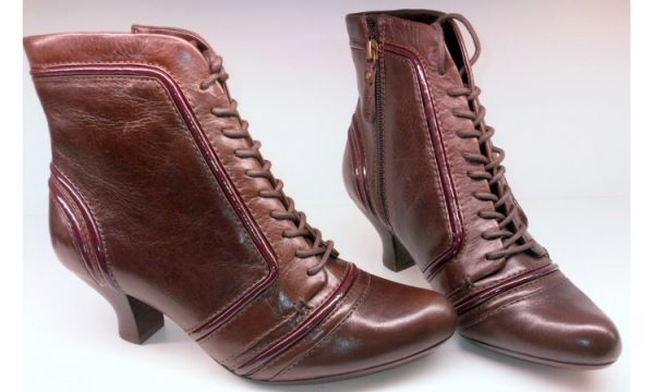 Clarks ankle boots KIDBROOK ABOUT brown leather