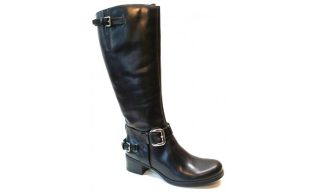 Clarks boots KILO VOLT black leather LEGWIDTH LARGE