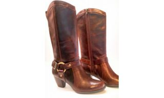 Clarks boots KOALA CUDDLE brown leather