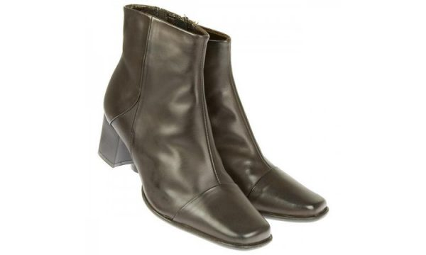 Clarks ankle boots LIMIT LEVEL brown leather