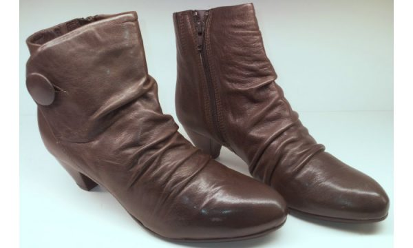 Clarks ankle boots LITMUS TEST grey leather