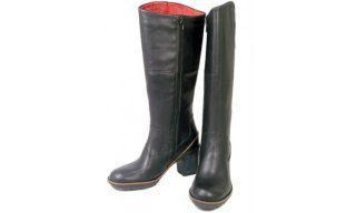 Clarks boots MAKER SHAKER black leather