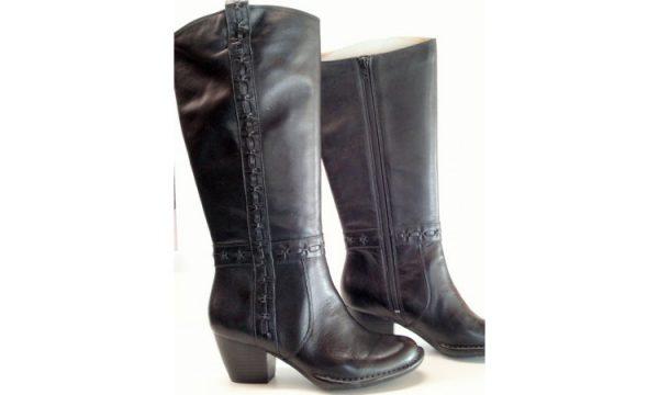 Clarks boots MELISSA TARA black leather