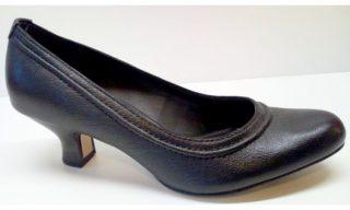 Clarks APPLE ODE black leather pumps for women