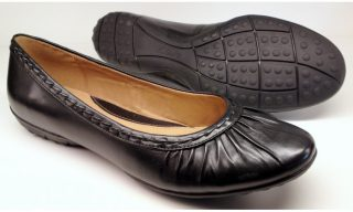 Clarks ballerina pumps ARIZONA SANDS 2 black leather