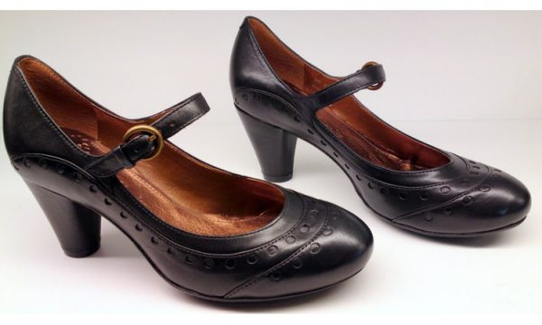 Clarks pumps AUTO BAHN black combi leather