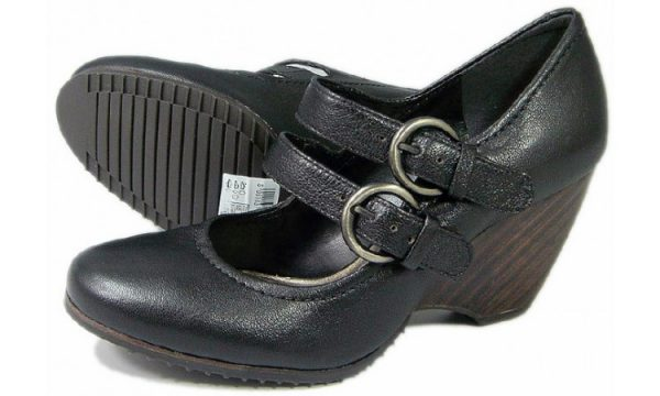 Clarks pumps BAMBOO PALM black leather