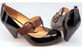 Clarks pumps BAND WAGON black combi leather