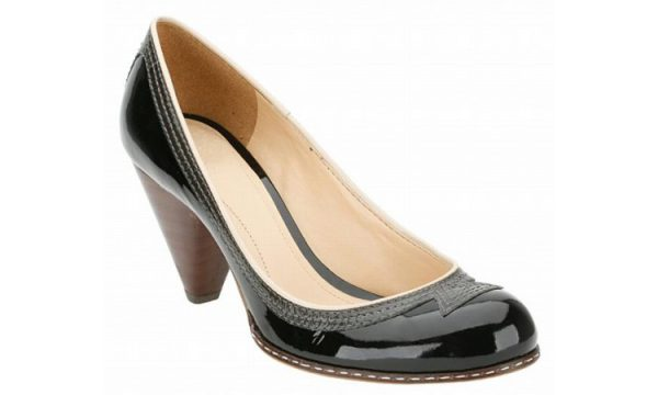 Clarks pumps BAND STAND black patent leather