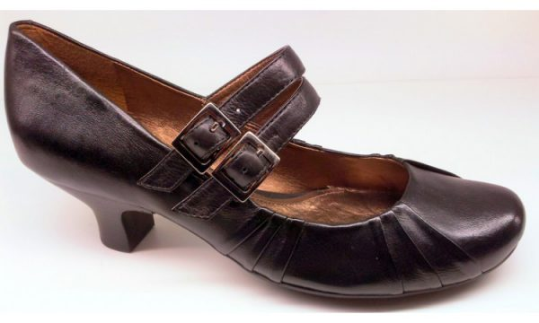 Clarks pumps BLACK ASH black leather