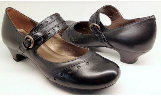 Clarks pumps BLUE MOON black leather