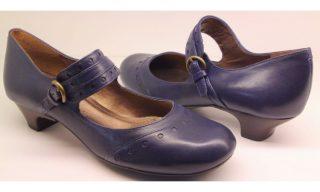 Clarks pumps BLUE MOON blue leather