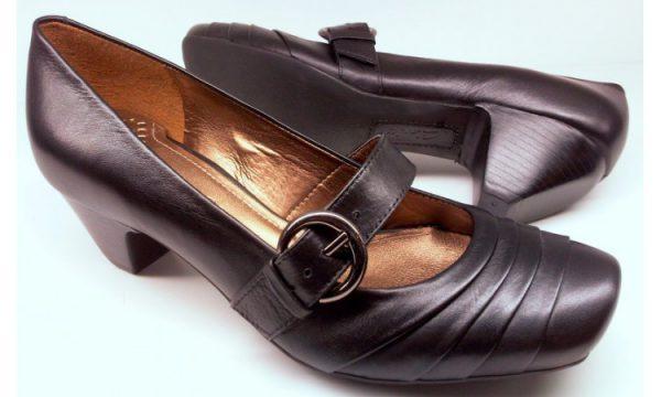 Clarks pumps BONE MEAL black leather
